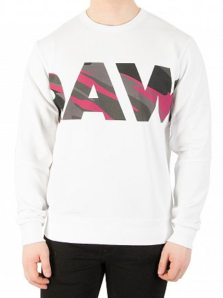 G-Star White Zeabel Sweatshirt