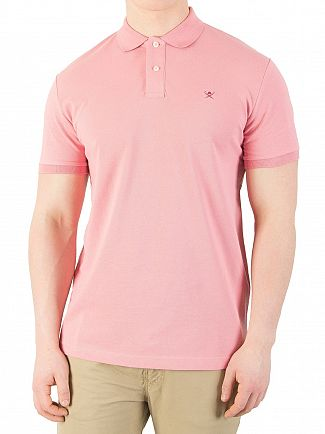 Hackett London Hot Pink Classic Polo Shirt