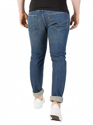 Levi's Gates Ave 501 Skinny Fit Jeans
