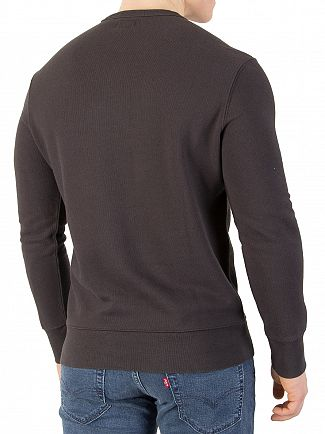 Levi's Fill Dark Grey Graphic Sweatshirt