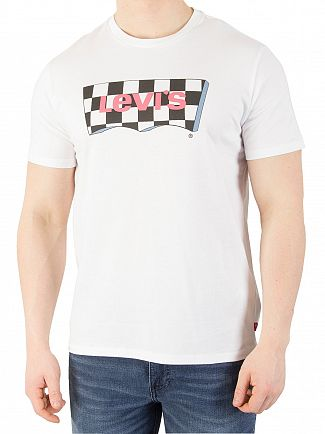 Levi's Fill White Housemark Graphic T-Shirt