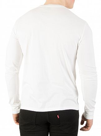 Levi's Better White Longsleeved Graphic T-Shirt