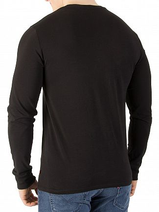 Levi's Better Black Longsleeved Graphic T-Shirt