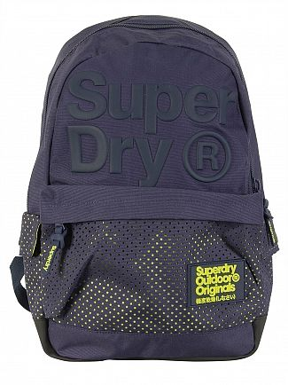 Superdry Navy Buff Montana Backpack
