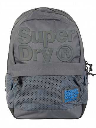 Superdry Grey Buff Montana Backpack