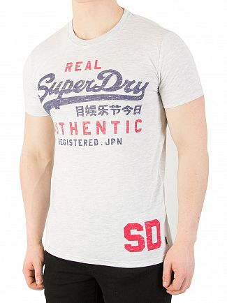 Superdry Ice Marl Vintage Authentic Due T-Shirt