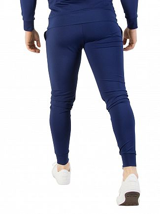 11 Degrees Navy Poly Joggers