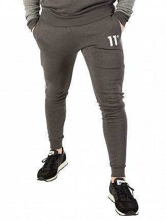 11 Degrees Smoke / Charcoal Marl Skinny Joggers