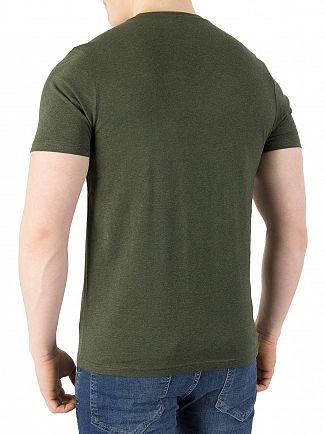 Farah Vintage Rosin Marl Denny Slim T-Shirt