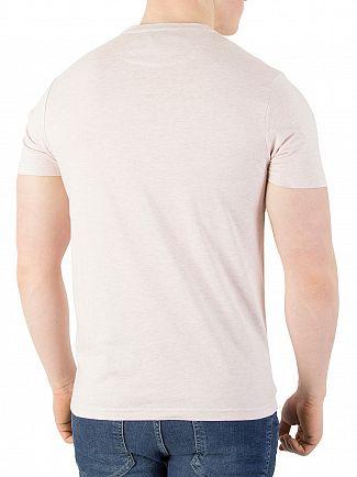 Farah Vintage Rose Marl Denny Slim T-Shirt