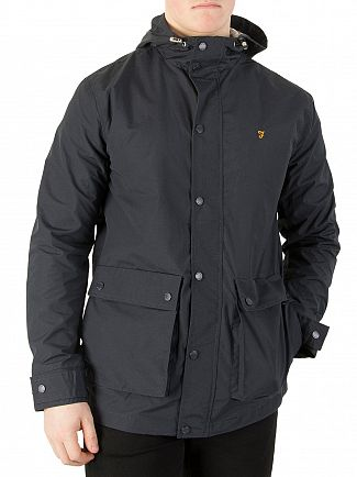 Farah Vintage True Navy Rourke Jacket