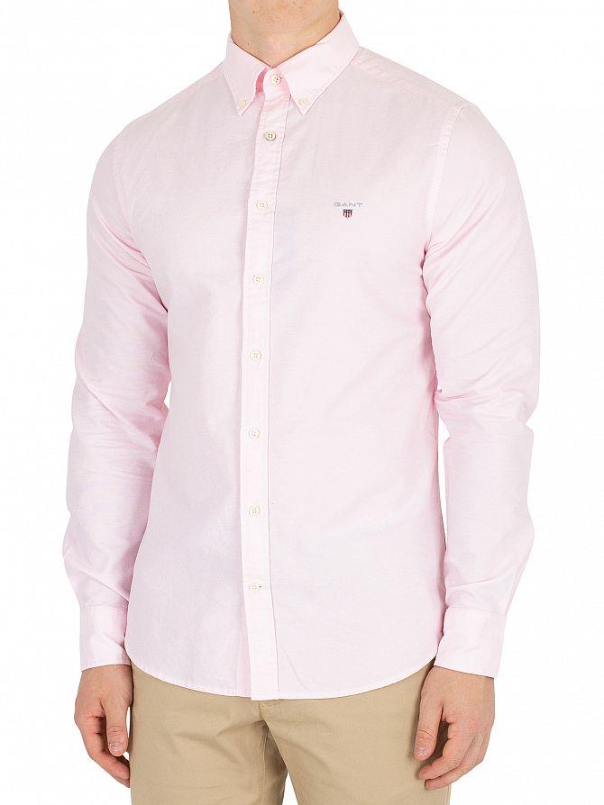 Gant Light Pink Button Down Oxford Shirt
