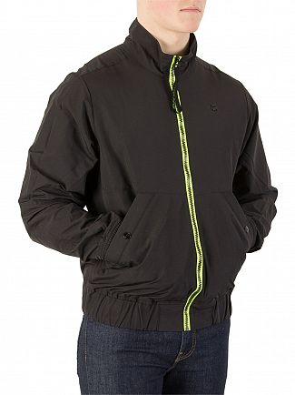 G-Star Black Deline Track Overshirt Jacket