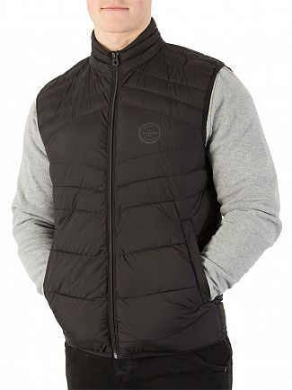 Jack & Jones Black New Landing Gilet