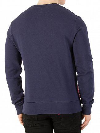 Levi's Olympic Pieced Color Block Sweatshirt