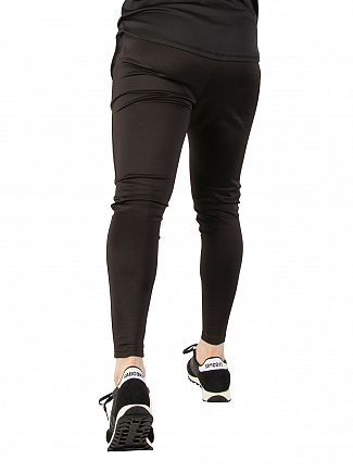 Sik Silk Black / Gold Athlete Track Joggers