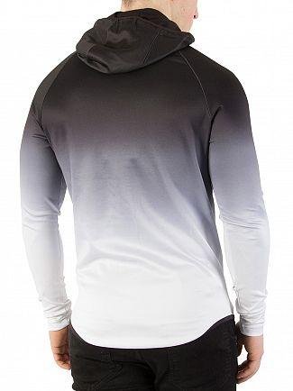 Sik Silk Black/White Athlete Zip Hoodie