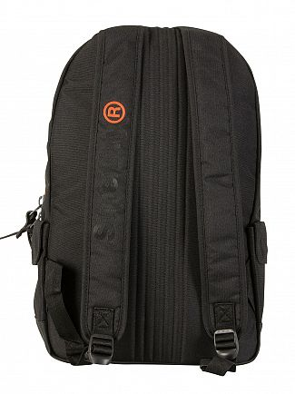 Superdry Black High Build Lineman Montana Backpack