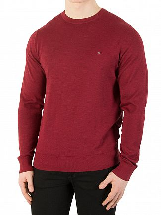 Tommy Hilfiger Rhubarb Heather Cotton Silk Knit