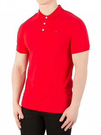summer-tommy-red-polo-shirt