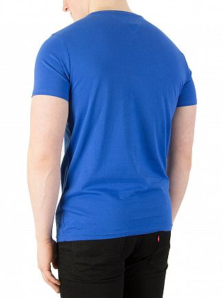 Tommy Jeans Nautical Blue Basic Slim Fit T-Shirt
