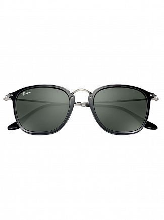 Ray-Ban Black Square Injected Sunglasses