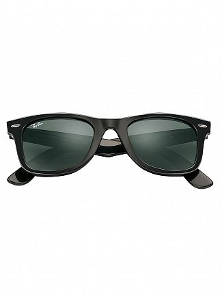 Ray-Ban Black Injected Sunglasses