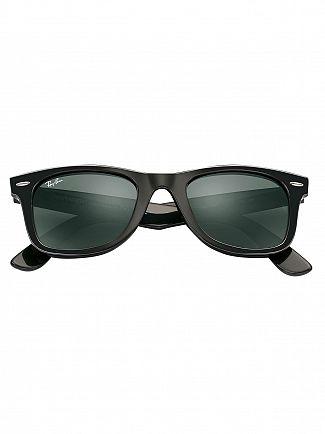 Ray-Ban Black Wayfarer Injected Sunglasses