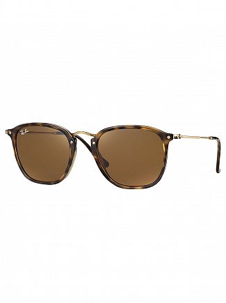 Ray-Ban Brown Square Injected Sunglasses