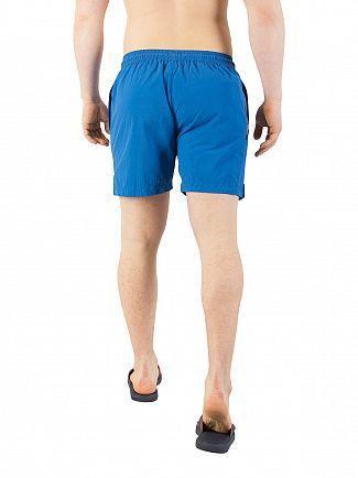 Calvin Klein Snorkel Blue Medium Drawstring Swim Shorts