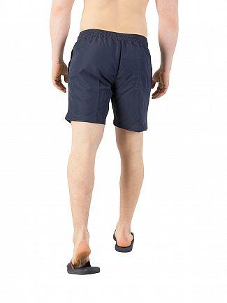 Calvin Klein Blue Shadow Side Stripe Swim Shorts