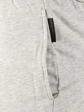 Emporio Armani Light Grey Marl Loungewear Bottoms