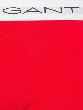 Gant Red/White/Navy 3 Pack Cotton Stretch Briefs