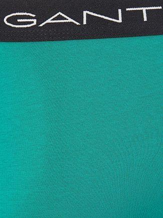 Gant Aster Blue 3 Pack Cotton Stretch Trunks