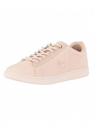 Lacoste Light Pink Carnaby Evo 118 1 G SPM Trainers