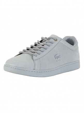 Lacoste Light Blue Carnaby Evo 118 1 G SPM Trainers