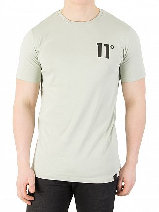 11 Degrees Pearl Green Core T-Shirt