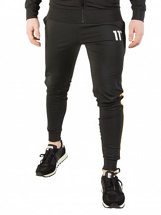 11 Degrees Zest/Black Poly Jogger