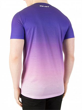 11 Degrees Purple Fade Sub T-Shirt