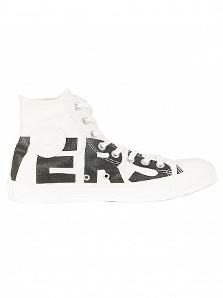 Converse Natural/Black CT All Star Hi Trainers