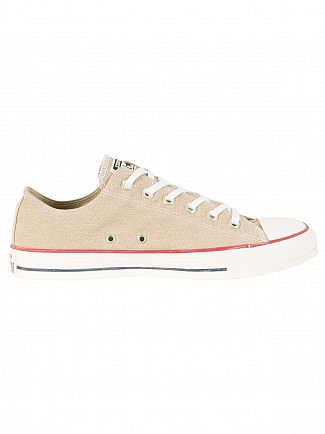 Converse Vintage Khaki CT All Star OX Trainers