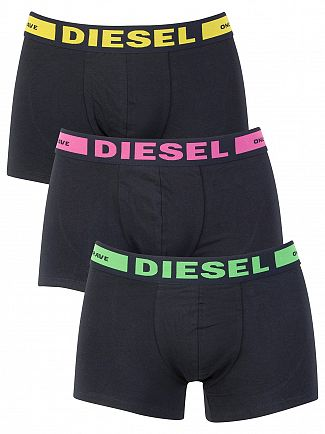 Diesel Black 3 Pack Kory Seasonal Trunks