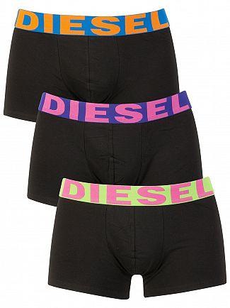 Diesel Green/Purple/Blue 3 Pack Shawn Seasonal Trunks