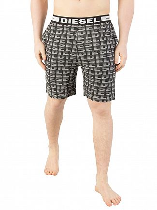 Diesel Black Tom Pyjama Shorts