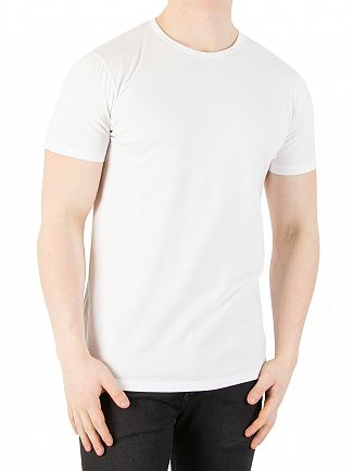 Edwin White 2 Pack Plain T-Shirts