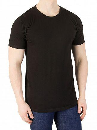 Edwin Black 2 Pack Plain T-Shirts