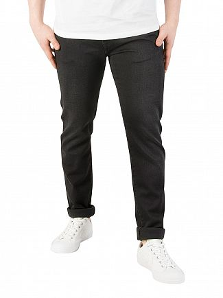 Edwin Ink Black ED-85 Slim Tapered Jeans