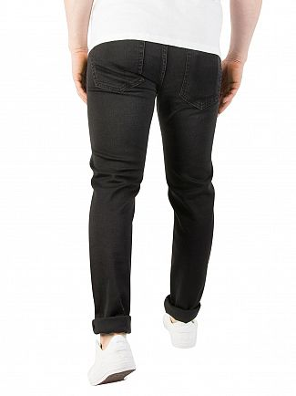 Edwin Ink Black ED-85 Slim Tapered Jeans