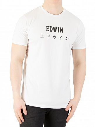 Edwin White Japan Graphic T-shirt