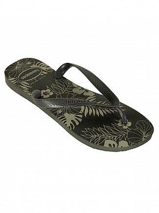 Havaianas New Graphite Aloha Flip Flops